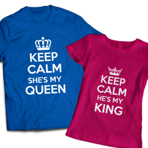 keep calm king queen 3