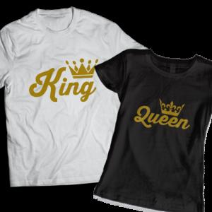 тениски за двойки king queen