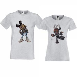 тениски с щампи за влюбени