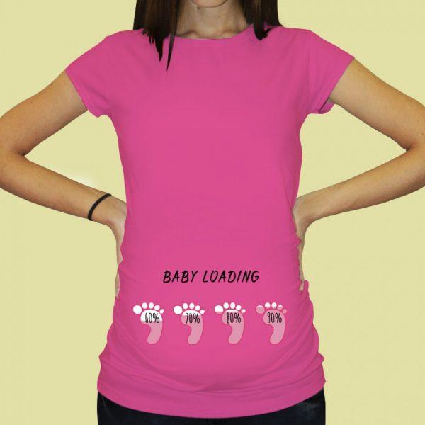 Тениска с щампа за бременни - тениски_за_бременни_pr-064
