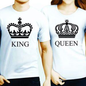 Тениски за двойки - тениски за влюбени